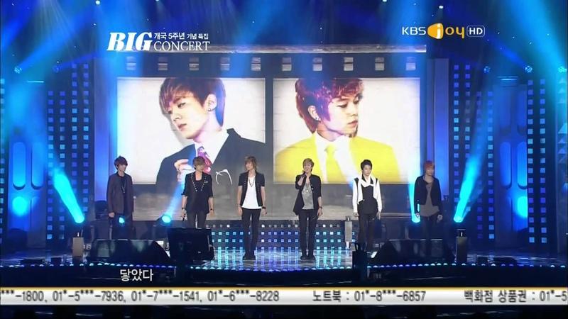 111101 Teen Top-ClapThe Back Of My HandDon't Put Perfume @KBS Joy 5th Annivesary Big Concert