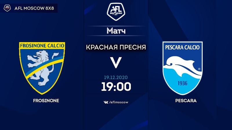AFL20. Italy. Serie C. Day 14. Frosinone - Pescara 62
