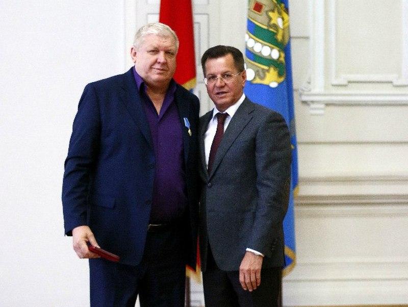 2016 год. Евгений Трефилов и Александр Жилкин