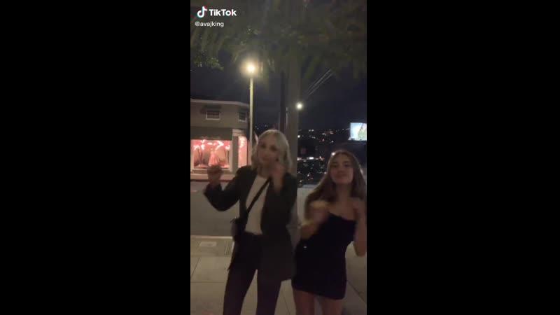 ТикТок Авы Кинг (видео с Кэндис Кинг)