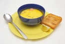 Сырно-креветочный суп
