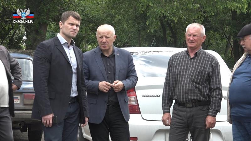 Сергей Наумец проверил подготовку Новоазовского района к отопительному сезону