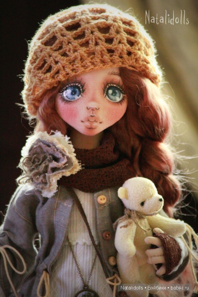 Авторские куколки Natalidolls.
