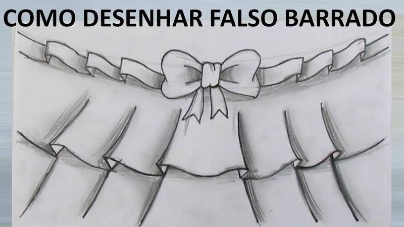 Pintura em tecido Como desenhar falso barrado como riscar falso barrado risco de barrado falso