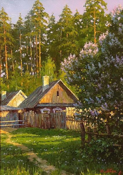 Немного прекрасного от художника Дмитрия Левина Кажется, что их подсвечивают изнутри!
