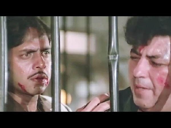 Vinod Mehra and Amjad Khan fights with goons, Bindiya Chamkegi - Action Scene 10/10