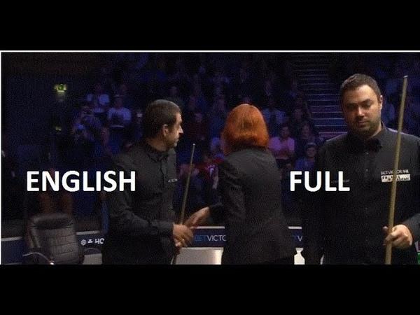 Ronnie O'Sullivan vs Kurt Maflin - (full match) English Open Snooker 2018