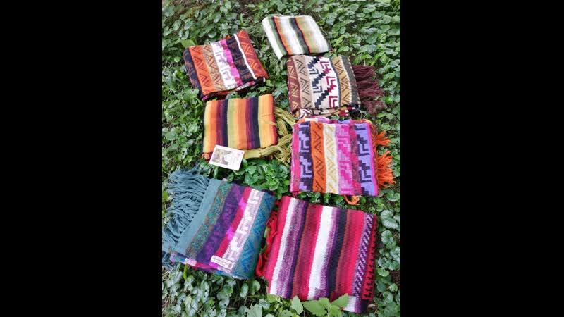 Перуанские шарфы Inka Tradition