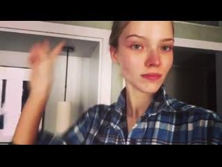 Видео из Instagram Саши Лусс (Sasha Luss)
