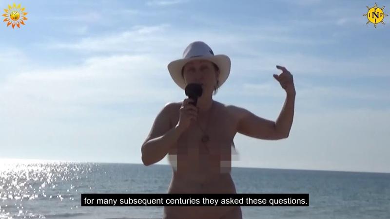 I'm at home Black Sea beach Nude beach Naturist Nudist INF Mila naturist