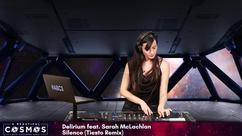 ALEXANDRA BADOI Cosmic Gate Exploration of Space Delerium Feat Sarah McLachlan Silence TIESTO REMIX ~ABC3~