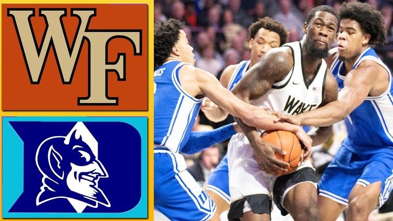 Duke vs Wake Forest Full Game Highlights February 25 2020 Men's College Basketball