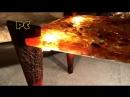 Красивый стол из эпоксидной смолы