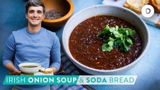 RECIPE: GUINNESS Onion Soup & Soda Bread! ST. PATRICKS DAY!