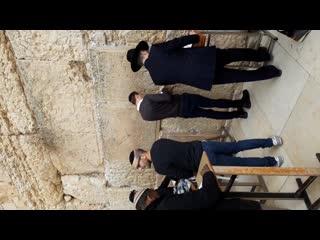 СТЕНА  ПЛАЧА (49)  Главная святыня евреев  и места падения Исуса когда вели на казнь и Храмовая гора (Елоха) в Иерусалиме