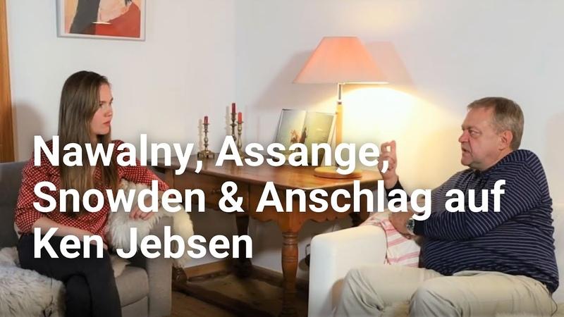 Assange, Nawalny Anschlag auf Ken Jebsen - Dirk Pohlmann zum deutschen Umgang mit Oppositionellen