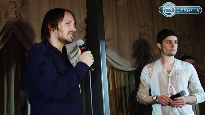 Жанна Фриске и Джиган на презентации клипа «Ты рядом»