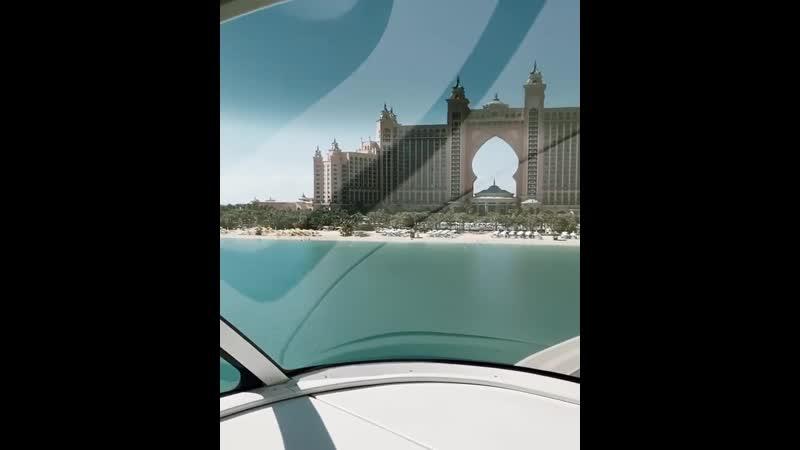 Живописные виды в Дубае