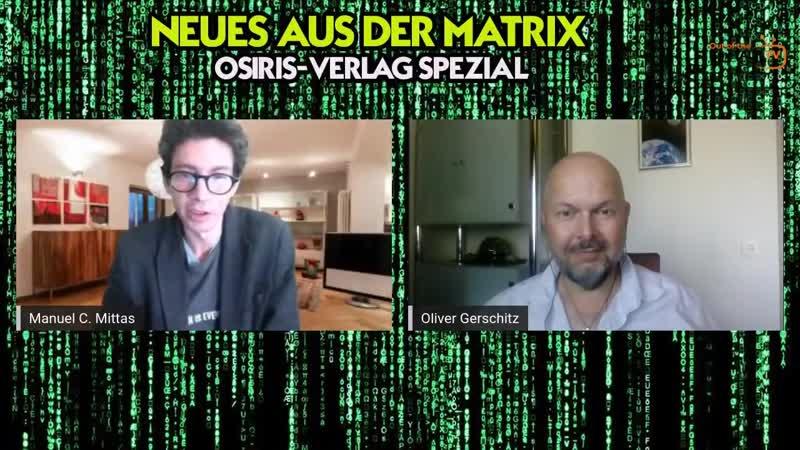 NEUES AUS DER MATRIX - Osiris-Verlag Spezial - im Gespräch mit Oliver Gerschitz über Q, JFK uvm