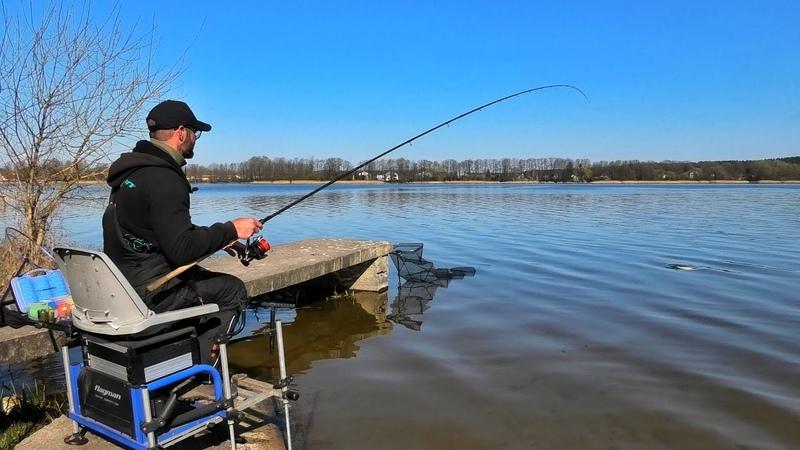 Фидерная ловля на озере Ждём леща и он плывёт Часть 1