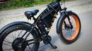 Электровелосипед (электрофэтбайк 1500W) своими руками. Обзор, максимальная скорость.