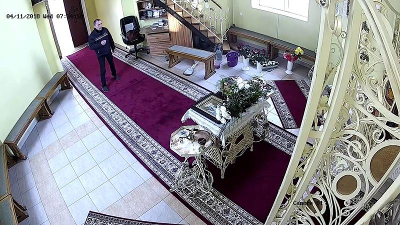 Набожный вор ограбил церковь в Тернополе