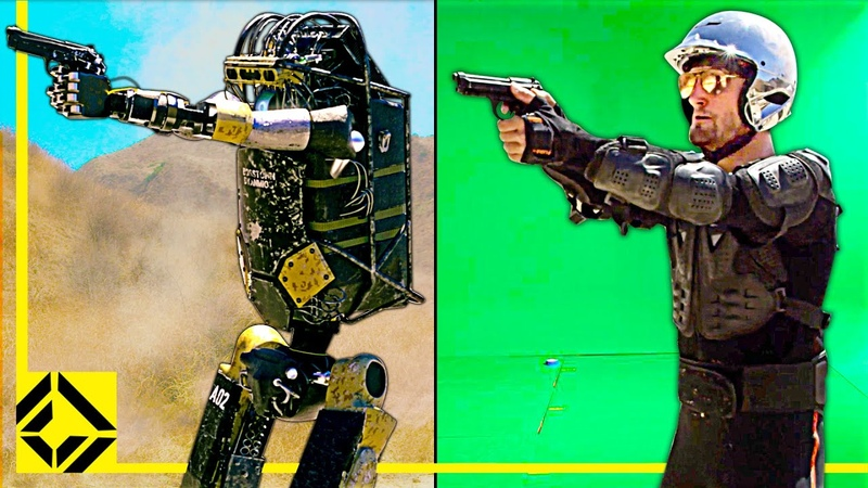 Combat Robots VFX Before After Reveal