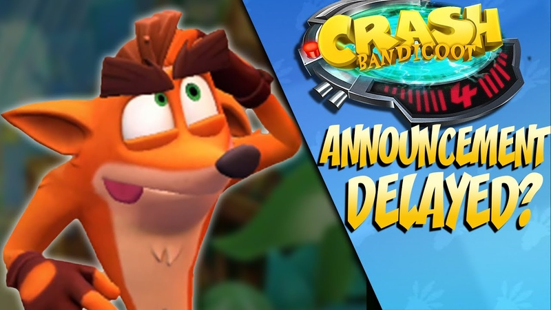 Crash Bandicoot 2020's Announcement MIGHT have Been Delayed