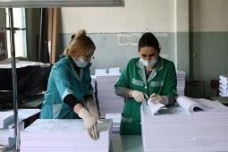 Бюллетени для голосования по Конституции печатают в Издательском доме «Липецкая газета»