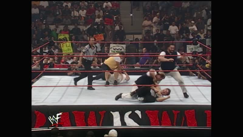 WWF Raw Is War 06.09.1999 Mean Street Posse vs Gerald Brisco Pat Patterson Test