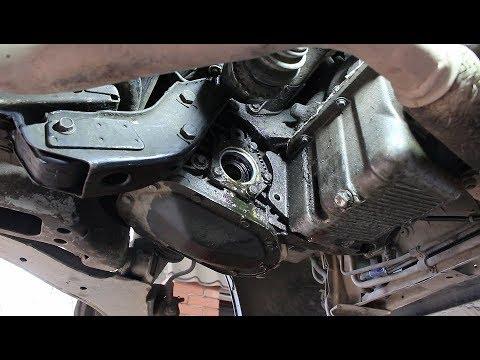 Замена сальника правого привода на Chevrolet Lanos Шевроле Ланос 2006 года
