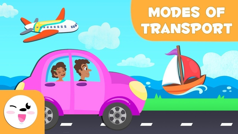 Means Of Transport For Children Land water and air transport for kids