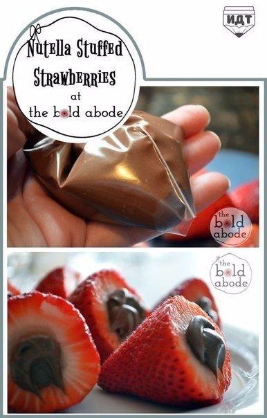 Идеи десертов из клубники