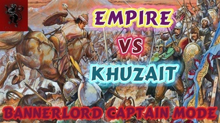 Mount & blade 2 Bannerlord Empire vs Khuzait. Tactics and interaction win the battle in captain mode