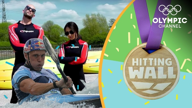Who can survive an Olympic gold medallist's Canoe Slalom workout Hitting the Wall