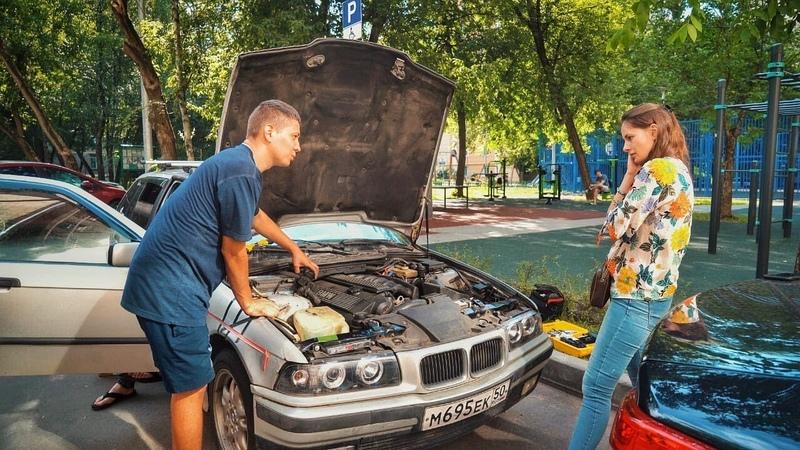 Не работает кондиционер в BMW