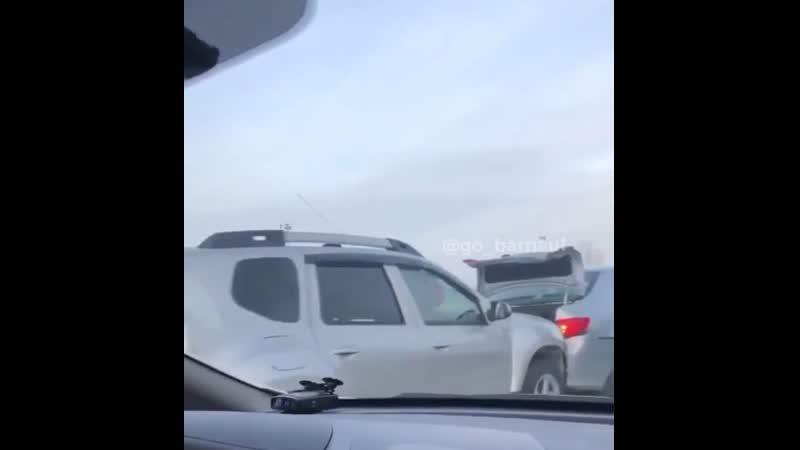 ДТП паравозик Сиреневая Павловский тракт