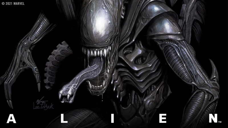 ALIEN 1 Trailer Marvel Comics