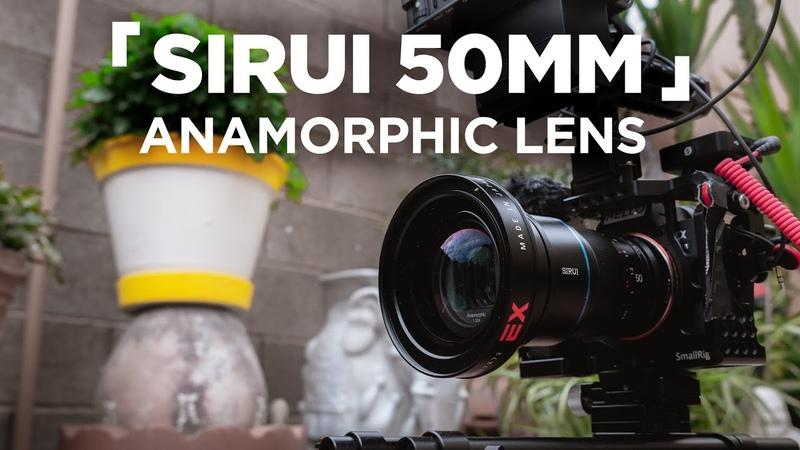 Sirui 50mm Anamorphic Lens Wide Angle Adapter