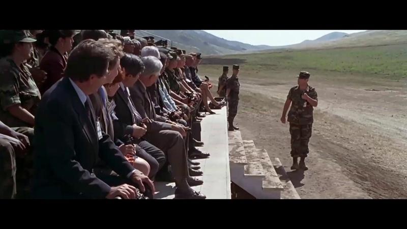 Финальный отрывок Танк на воздушной подушке Сержант Билко Sgt Bilko 1996