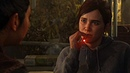 Ellie SMOKING WEED and Kissing Dina scene - The Last of Us Part 2