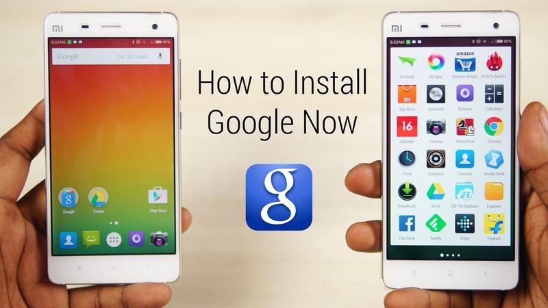 Google Now Launcher on MIUI 6 How to Install Mi3 Mi4 Redmi