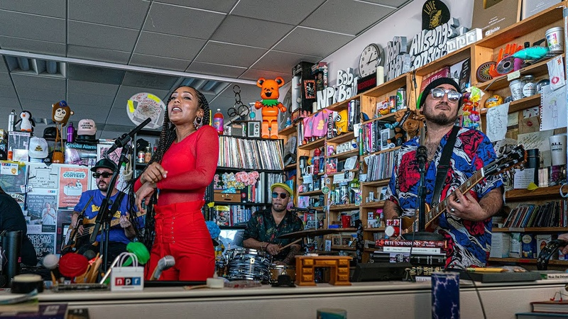 The Free Nationals Feat. Anderson .Paak, Chronixx India Shawn: NPR Music Tiny Desk Concert