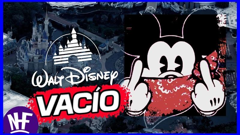 Asi luce ⭐ Disney World 2020⭐ vacio por la cuarentena Mickey Mouse y Donald Sin Trabajo *AYUDA*