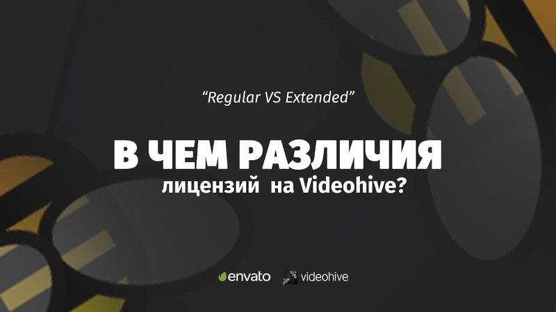 Как выбрать лицензию на Videohive В чем различия Regular от Extended License