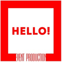 Логотип HELLO ! event production.