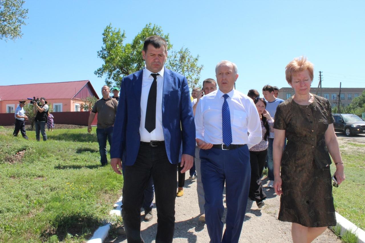 губернатор Саратовской области побывал с визитом в селе Первомайское
