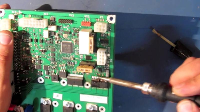 Урок по пайке. Демонтаж микросхемы в корпусе TO-263-15.