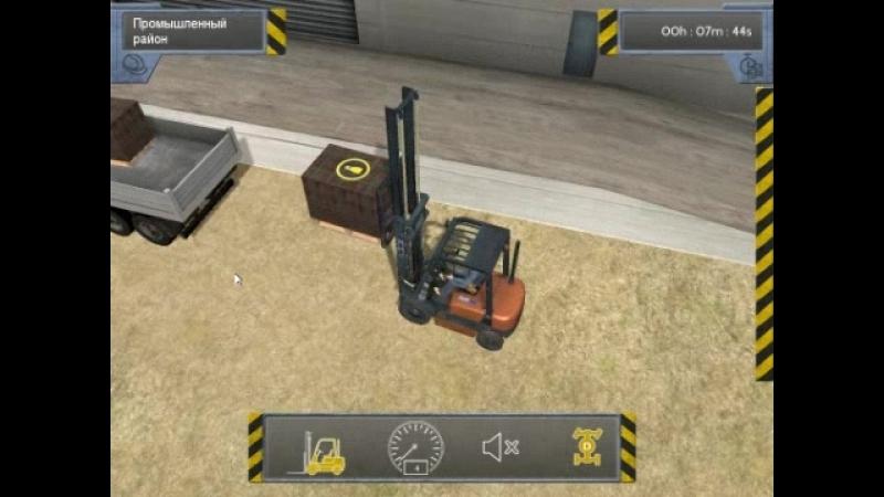 Bau-Simulator 2012 Миссия вторая (Продолжение выложить кирпичи на крышу дома)