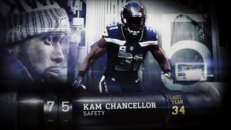 Top 100 Players of 2018. № 75. Kam Chancellor